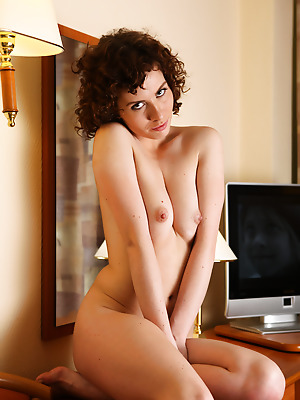 avErotica  Renata  Teens, Erotic, Curly, Amateur, Pussy, Solo, Shaved